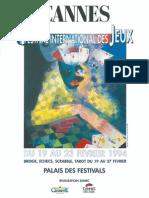 Cannes 1994 Plaquette