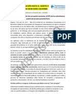 Com BarometroGlobalCorrupcion Colombia Rv