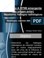 Influenza a H7N9 - Gallegos