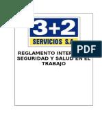 Reglamento Interno SST 3+2 SERVICIOS