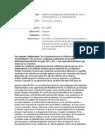 Historia ecológica de Iberoamérica - Ficha