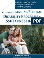 Understanding Federal Disability Programs
