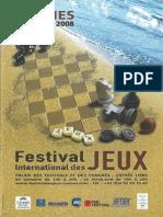 Cannes 2008 Plaquette