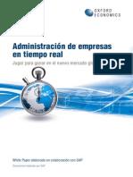 TEC - Administración de empresas en tiempo real