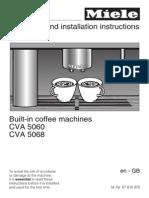CVA 5060 Coffe Machine