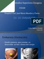 DX de Embarazo