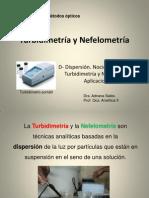 Turbidimetr a y Nefelometr a Presentacion