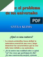 Problema universales Klima