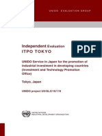 ITPO Tokyo Evaluation 2013 Final Report