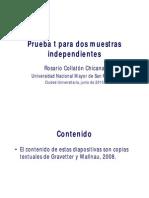 Prueba T Para Muestras Independientes RCollaton140713