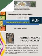 Fermentaciones Industriales . Kristoper Garcia