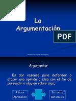 La Argumentacion