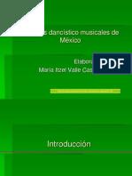 Géneros dancísticos y musicales de México