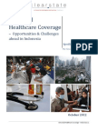 Indonesia Universal Healthcare Coverage - Opportunities and Challenges