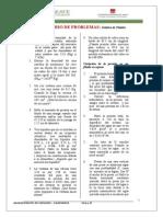 Cuestionario 2º estatica de  Fluidos