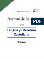 9° Lengua y Literatura Castellana 9° 02_12