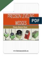 Precison Leveling Anti Vibration Wedges