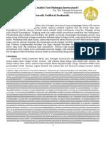 Strukturalis Ringkasan Perenungan Dan Analisis Teori Hubungan Internasional I