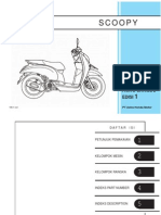 Honda Pc Scoopy service manual