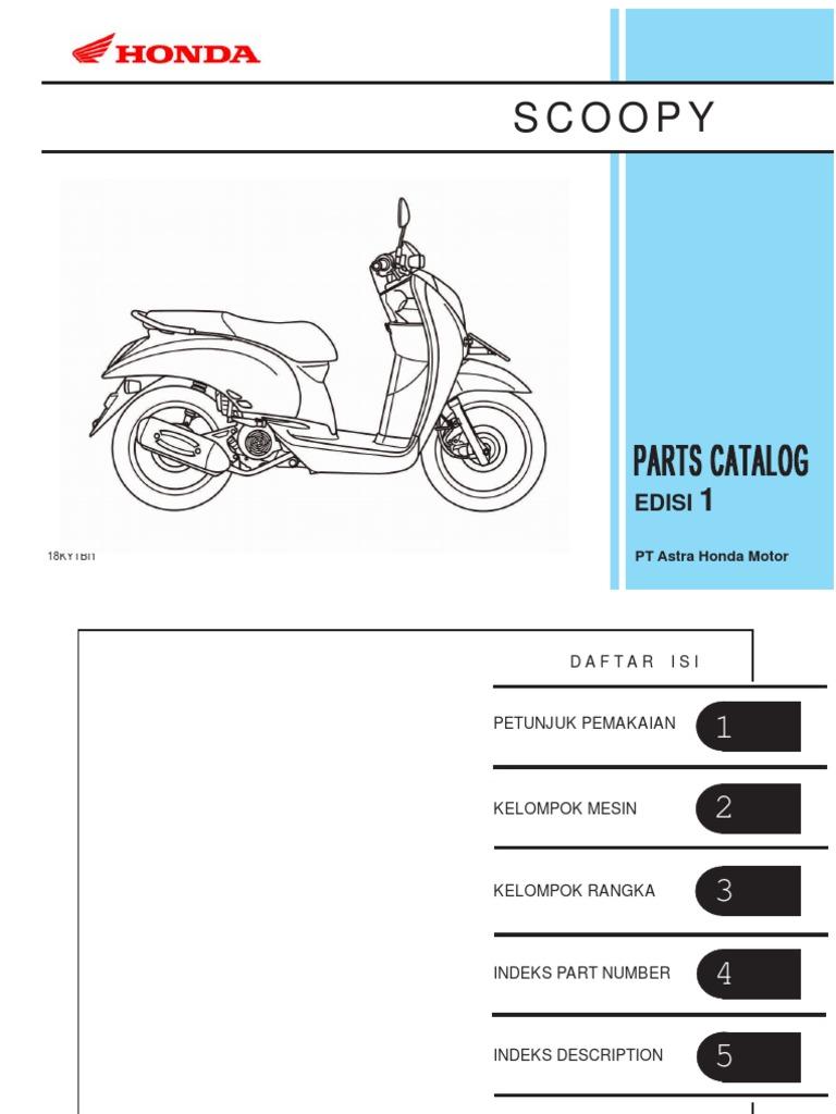 Honda Pc Scoopy Service Manual