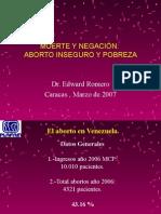 diapositiva aborto
