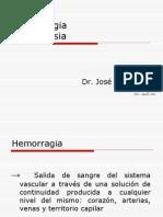 Hemorragia - Hemostasia