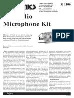 K1106 FM Transmitter Kit