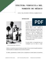 Arquitectura Vernacula Del Noreste de Mexico, Jimmie L. King