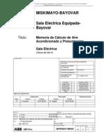 3BPEPB2017M0005 - Memoria de Calculo de Aire Acondicionado y Presurizacion
