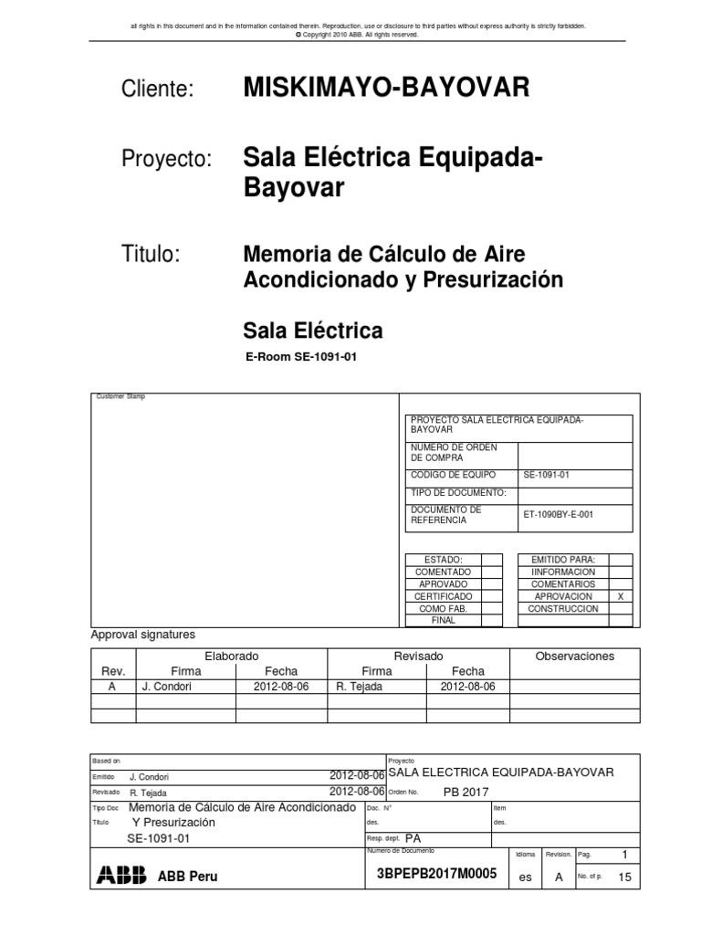 3BPEPB2017M0005 - Memoria de Calculo de Aire Acondicionado ...