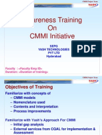 CMMI Awareness Training