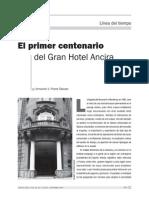 El Primer Centenario Del Gran Hotel Ancira