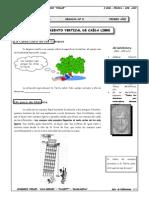 Guía Nº 8 - Movimiento Vertical de Caida Libre