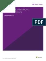 Visual Studio 2012 and MSDN Licensing Whitepaper - June-2013