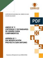 Criterios y Estandares de Diseno Para Campamentos
