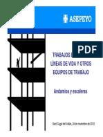 Andamios y Escaleras 2010