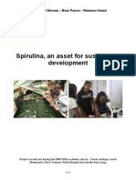 Spirulina Final Report FRANCE