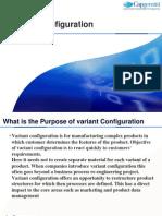 Variant Configuration - Training Document