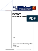 Paper Event Marketing Dr MasRah