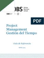 Lectura 1 OBS GTP Material Tiempo