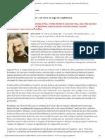 O narrador (Charles Baudelaire – um lírico no auge do capitalismo) _ Uma pirueta, duas piruetas
