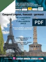 Afis Franceza - Germana