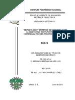 Metodologia y Criterios de Ingenieria Para La Seleccion e Instalacion de Sistemas Hidroneumaticos de Aplicacion Recidencial