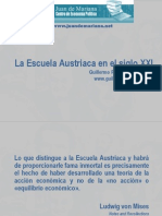 La Escuela Austriaca en El Siglo XXI