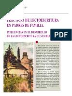 Lectoescritura Familia