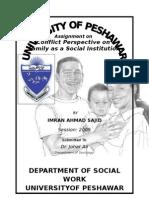 Family as Social Institution