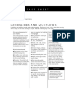 Fact Sheet - Landslides