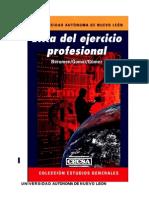 Libro - Ética del ejercicio profesional