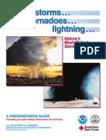 Thunderstorms Lightning Tornados