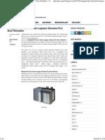 Mengenal PLC Dan Tutorial Logixpro Simulasi PLC Door Simulator ~ Share n Inspire